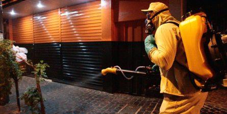 Sanitização passa por 32 bairros nesta semana