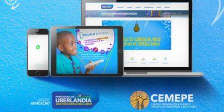 Prefeitura lança plataforma para formação on-line de servidores da Educação