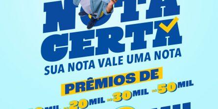 Primeiro sorteio do 'Nota Certa' será para notas fiscais eletrônicas emitidas em fevereiro