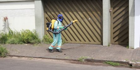 Uberlândia continua com trabalho de sanitização no fim de semana