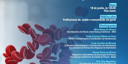 Inscrições estão abertas para live sobre doença falciforme